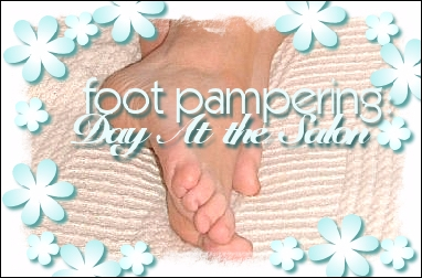 Foot Pampering: Day at the salon 15 minutes