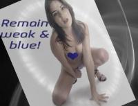Remain Weak & Blue